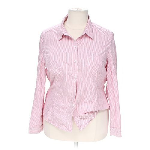 Jones New York Button-up Shirt in size XXL at up to 95% Off - Swap.com