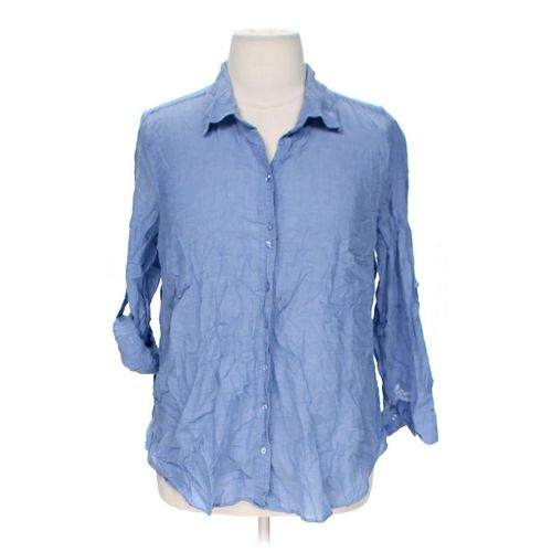 Just My Size Button-up Shirt in size 2X at up to 95% Off - Swap.com