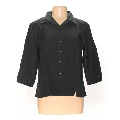 Karen Scott Button-up Shirt in size L at up to 95% Off - Swap.com