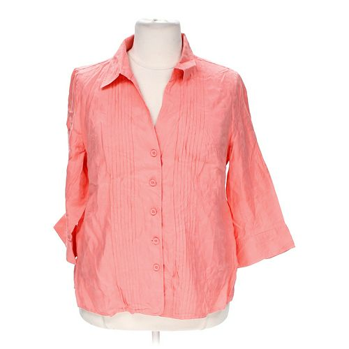 Kim Rogers Button-up Shirt in size XXL at up to 95% Off - Swap.com