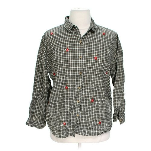 Koret Button-up Shirt in size 22 at up to 95% Off - Swap.com
