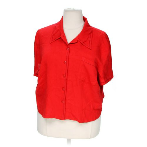 Lady Dorby Button-up Shirt in size 22 at up to 95% Off - Swap.com