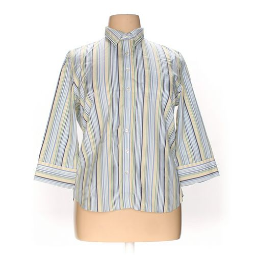 Lands' End Button-up Shirt in size 16 at up to 95% Off - Swap.com