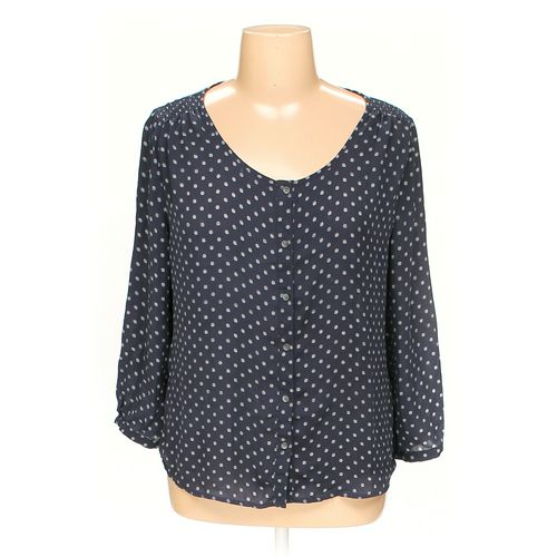 Land's End Button-up Shirt in size 16 at up to 95% Off - Swap.com