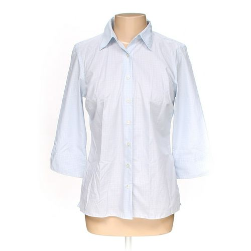 Lands' End Button-up Shirt in size 10 at up to 95% Off - Swap.com