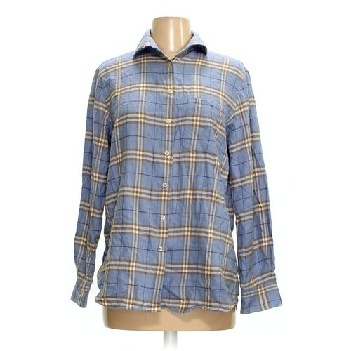 Lands' End Button-up Shirt in size 6 at up to 95% Off - Swap.com