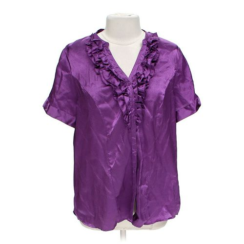Lane Bryant Button-up Shirt in size 14 at up to 95% Off - Swap.com
