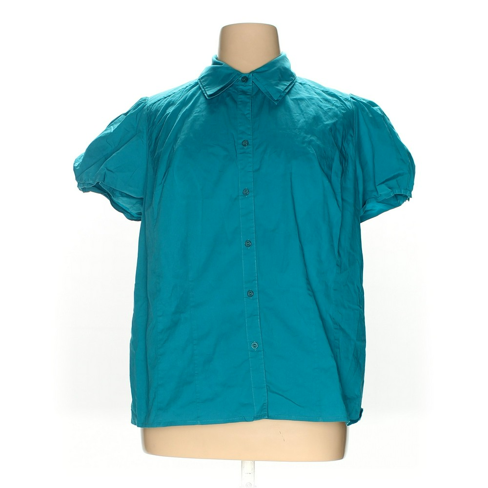 eba47ec3240e9 Lane Bryant Button-up Shirt in size 22 at up to 95% Off -