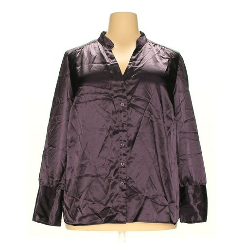 Lane Bryant Button-up Shirt in size 24 at up to 95% Off - Swap.com
