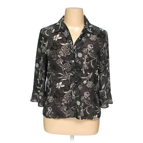 Laura Scott Button-up Shirt in size 14 at up to 95% Off - Swap.com