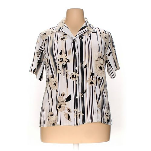 Laura Scott Button-up Shirt in size 18 at up to 95% Off - Swap.com