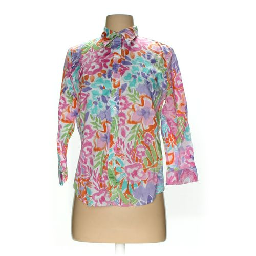 Lauren Ralph Lauren Button-up Shirt in size M at up to 95% Off - Swap.com