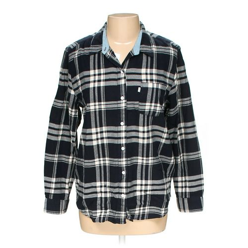 Levi's Button-up Shirt in size L at up to 95% Off - Swap.com