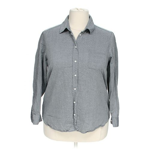 Leyla Button-up Shirt in size 1X at up to 95% Off - Swap.com