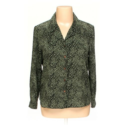 Liz Baker Button-up Shirt in size 14 at up to 95% Off - Swap.com