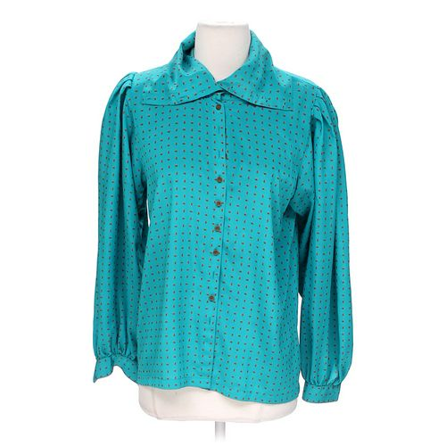 Liz Claiborne Button-up Shirt in size 8 at up to 95% Off - Swap.com