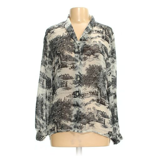 Liz Claiborne Collection Button-up Shirt in size 6 at up to 95% Off - Swap.com