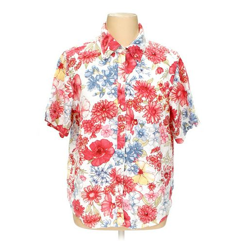Liz Claiborne Button-up Shirt in size 16 at up to 95% Off - Swap.com