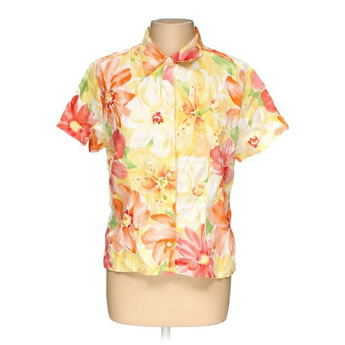 Liz Claiborne Button-up Shirt in size L at up to 95% Off - Swap.com
