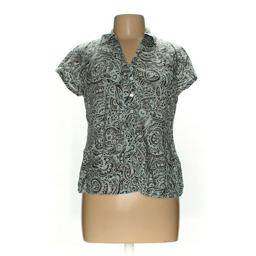 Liz&Co. Button-up Shirt in size L at up to 95% Off - Swap.com