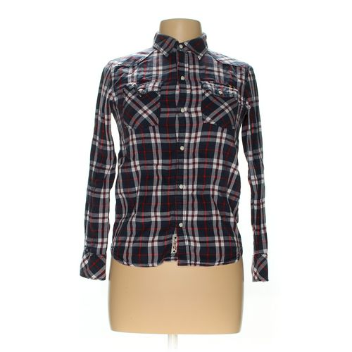 Lucky Brand Button-up Shirt in size M at up to 95% Off - Swap.com