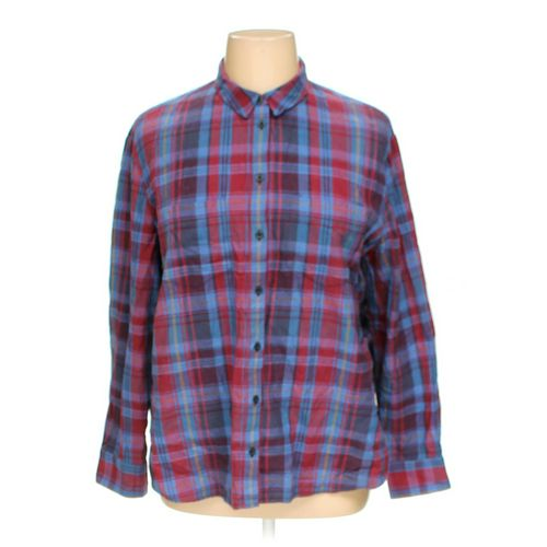 Madewell Button-up Shirt in size XL at up to 95% Off - Swap.com