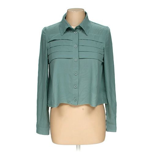 MAUDE Button-up Shirt in size M at up to 95% Off - Swap.com