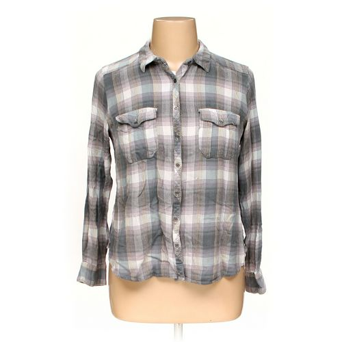 Maurices Button-up Shirt in size XL at up to 95% Off - Swap.com