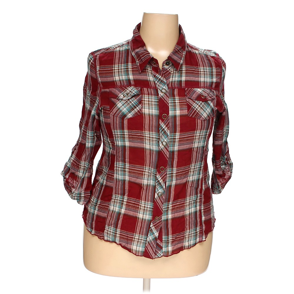 e0c17110d6528 Maurices Button-up Shirt in size XXL at up to 95% Off - Swap