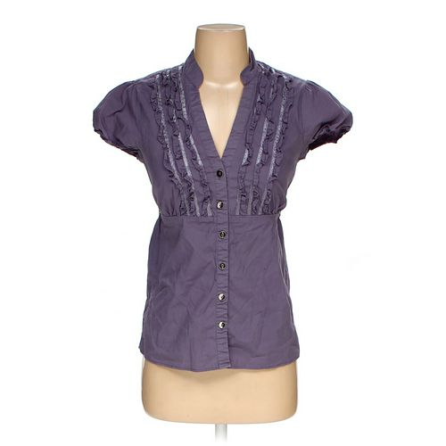 Maurices Button-up Shirt in size S at up to 95% Off - Swap.com