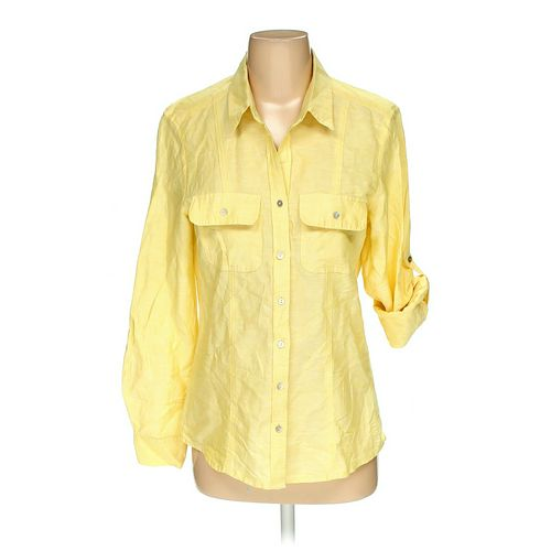 Max Studio Button-up Shirt in size S at up to 95% Off - Swap.com