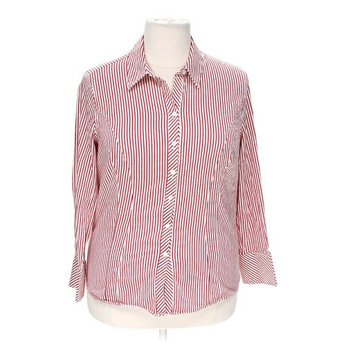 Merona Button-up Shirt in size 18 at up to 95% Off - Swap.com