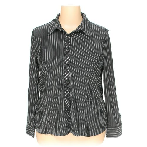 Merona Button-up Shirt in size 2X at up to 95% Off - Swap.com