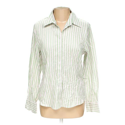 Merona Button-up Shirt in size L at up to 95% Off - Swap.com
