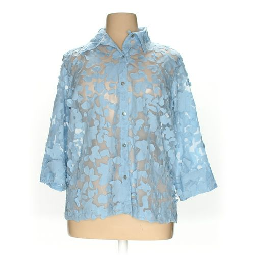 MIRASOL Button-up Shirt in size 1X at up to 95% Off - Swap.com
