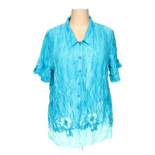 MirrorImage Button-up Shirt in size 1X at up to 95% Off - Swap.com