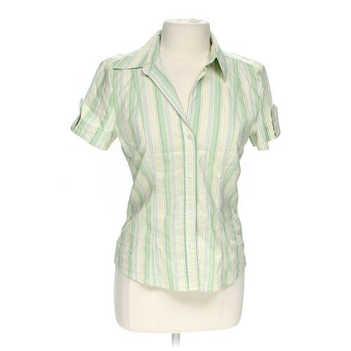 New York & Company Button-up Shirt in size M at up to 95% Off - Swap.com