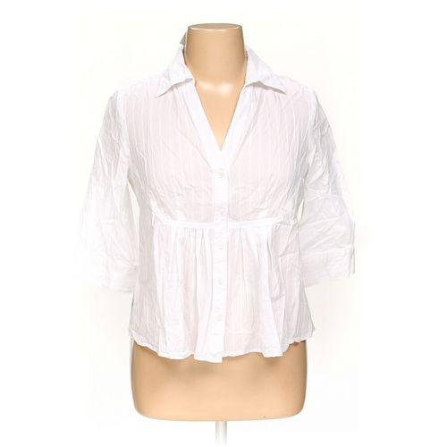 Nine West Button-up Shirt in size 14 at up to 95% Off - Swap.com