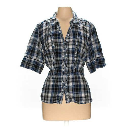 Nine West Button-up Shirt in size XL at up to 95% Off - Swap.com