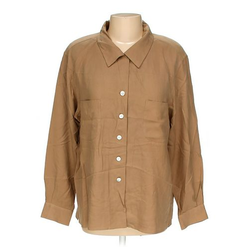 Norm Thompson Button-up Shirt in size 18 at up to 95% Off - Swap.com