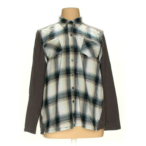 NorthCrest Button-up Shirt in size 2X at up to 95% Off - Swap.com