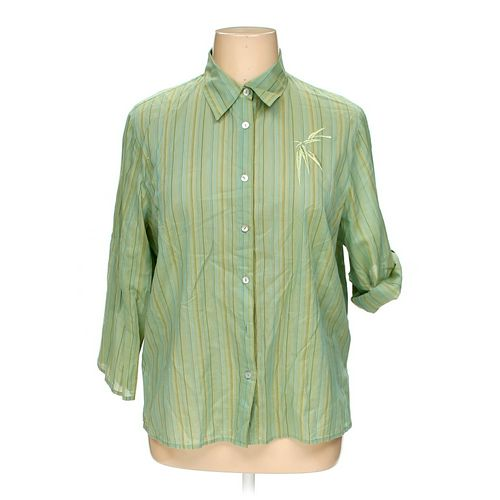 Norton McNaughton Button-up Shirt in size 16 at up to 95% Off - Swap.com