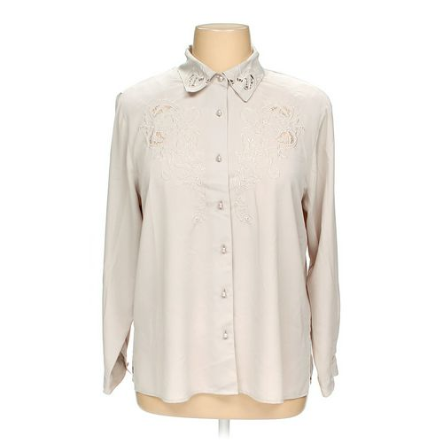 Notations Button-up Shirt in size 16 at up to 95% Off - Swap.com