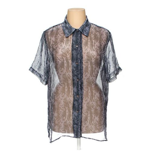 Notations Button-up Shirt in size 1X at up to 95% Off - Swap.com