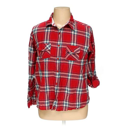 Overdrive Clothing Button-up Shirt in size XL at up to 95% Off - Swap.com