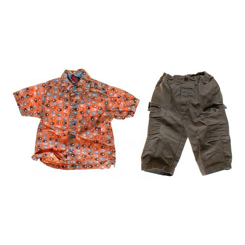 Sonik Button-up Shirt & Pants in size 6 mo at up to 95% Off - Swap.com