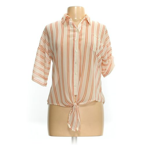 Pearl Button-up Shirt in size L at up to 95% Off - Swap.com
