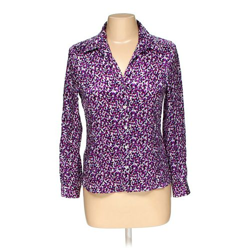 Petite Sophisticate Button-up Shirt in size 6 at up to 95% Off - Swap.com