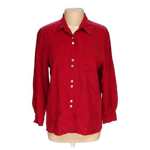 Petite Sophisticate Button-up Shirt in size M at up to 95% Off - Swap.com