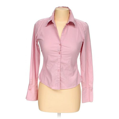 Quiz Clothing Button-up Shirt in size M at up to 95% Off - Swap.com